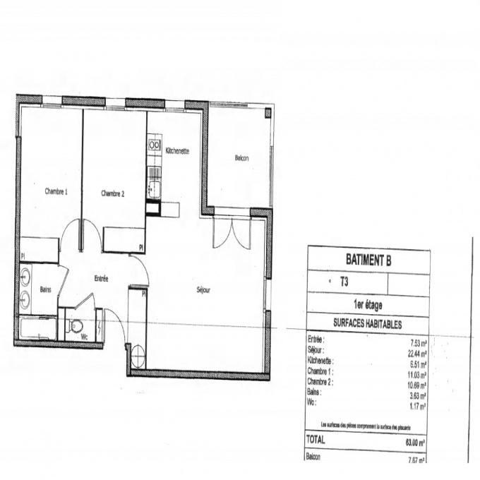 Offres de location Appartement Fenouillet (31150)